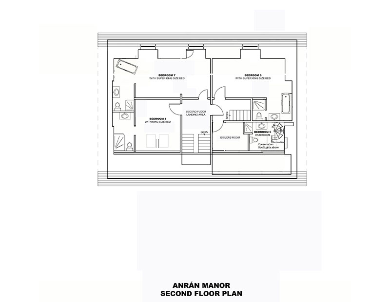 ANRÁN Manor Second Floor Plans