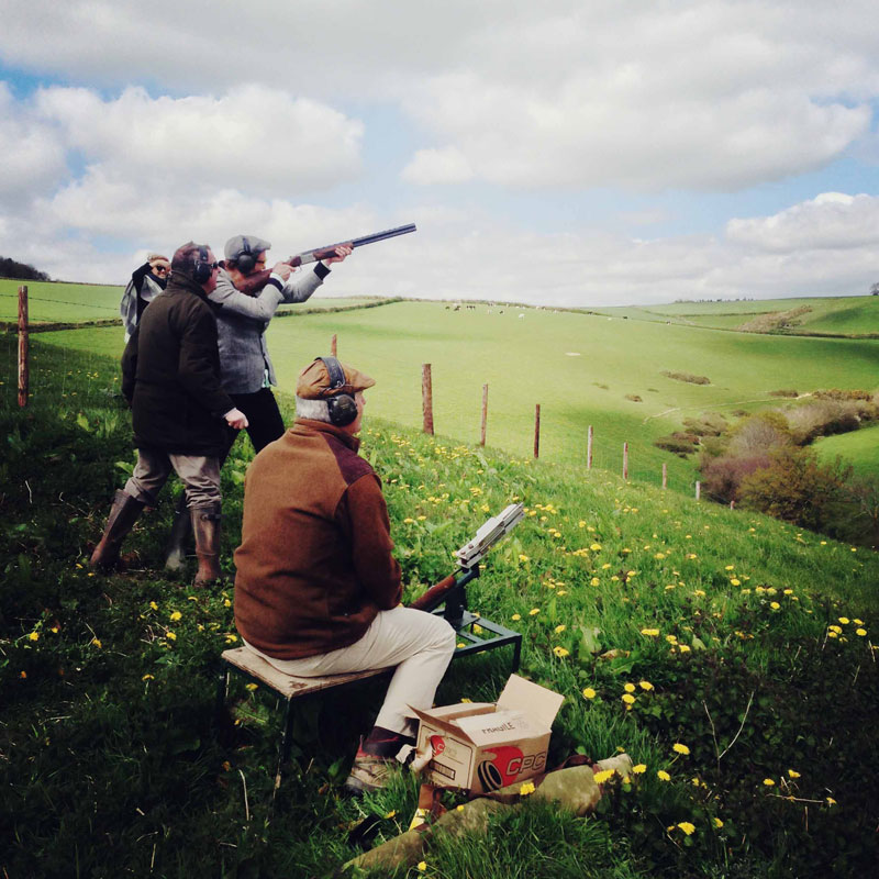 Clay Shooting at ANRÁN